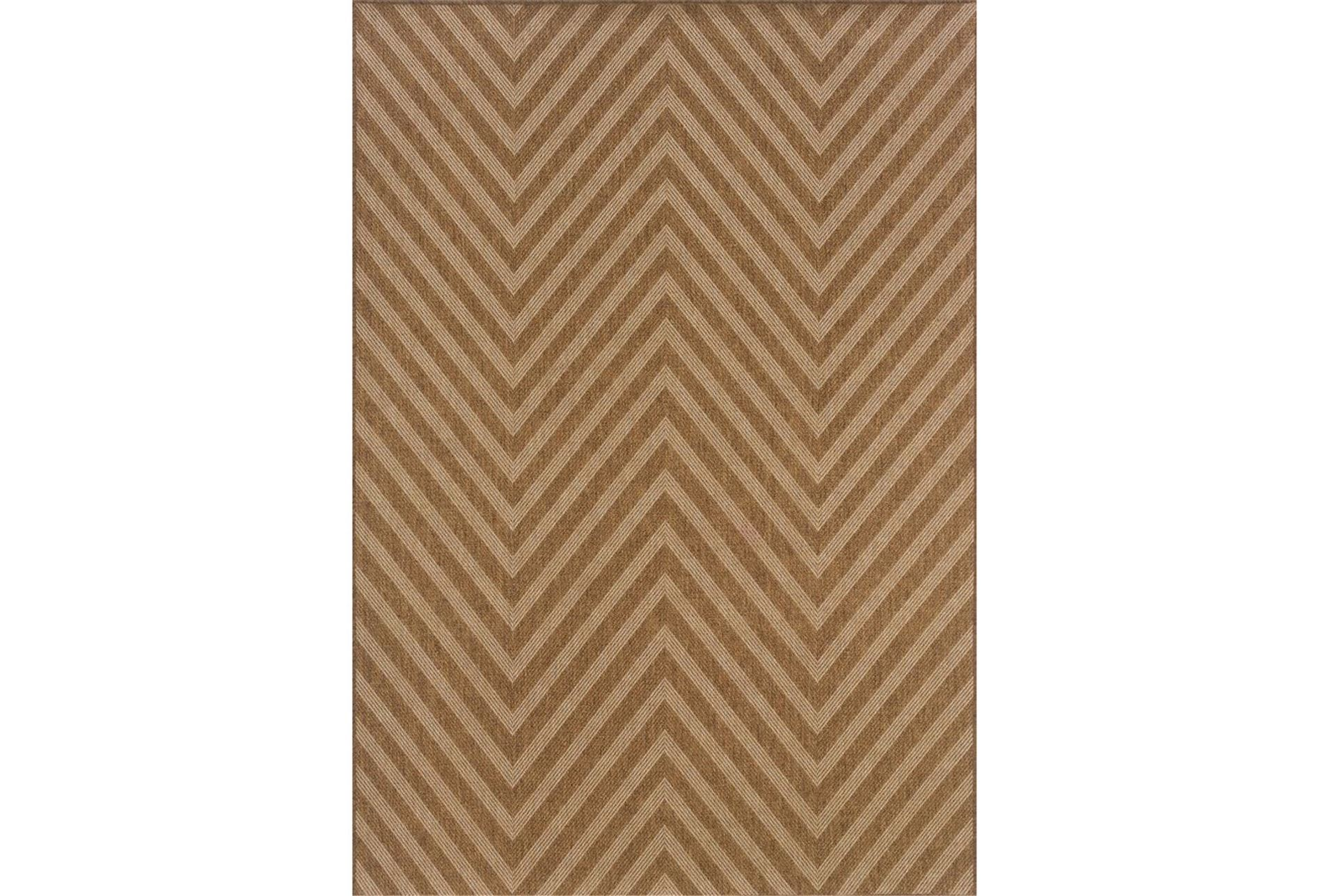 94x130 outdoor rug ryker chevron living spaces for Living spaces rugs