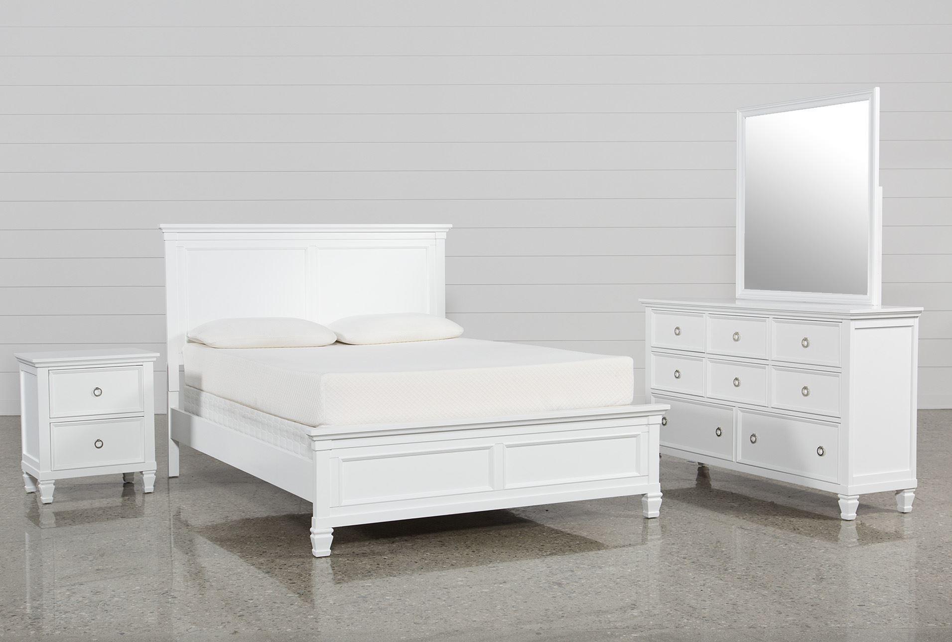 albany queen 4 piece bedroom set living spaces
