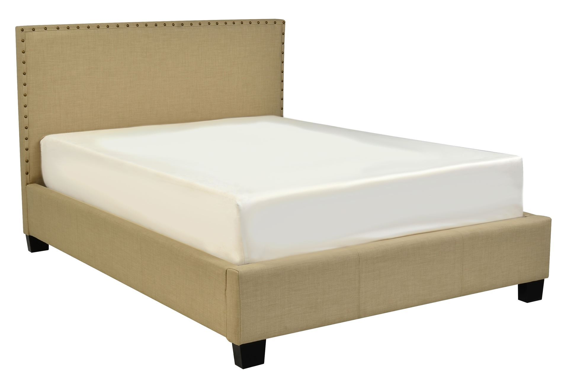 Lennox Ii Queen Upholstered Platform Bed Living Spaces