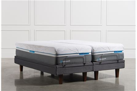 Silver California King Split Mattress Set - Main