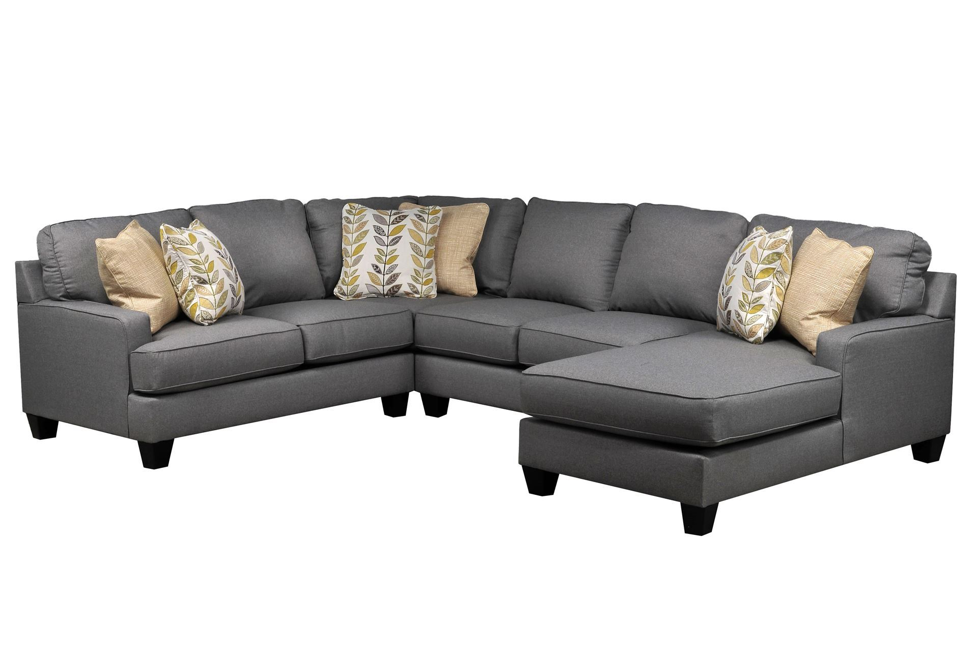 chamberly 4 piece sectional w raf chaise signature