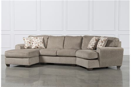 Patola Park 3 Piece Cuddler Sectional W/Laf Corner Chaise - Main