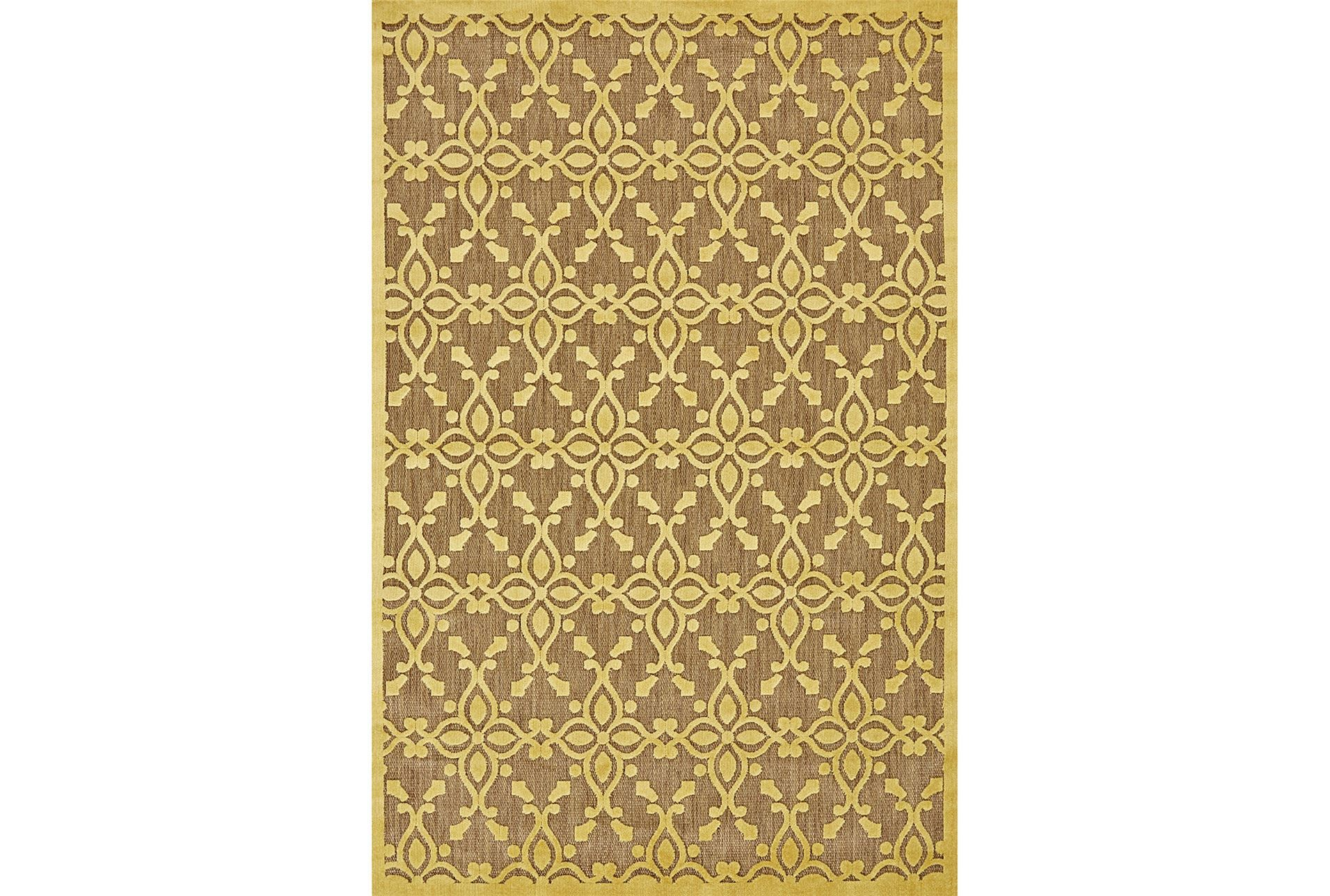 25x48 rug byron yellow living spaces for Living spaces rugs