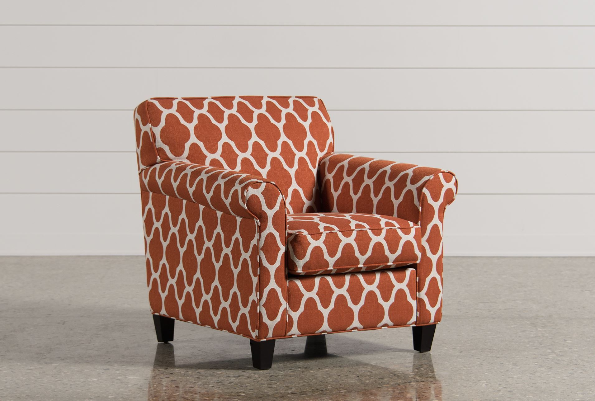 Living Spaces Accent Chairs : Victoria Accent Chair - Living Spaces