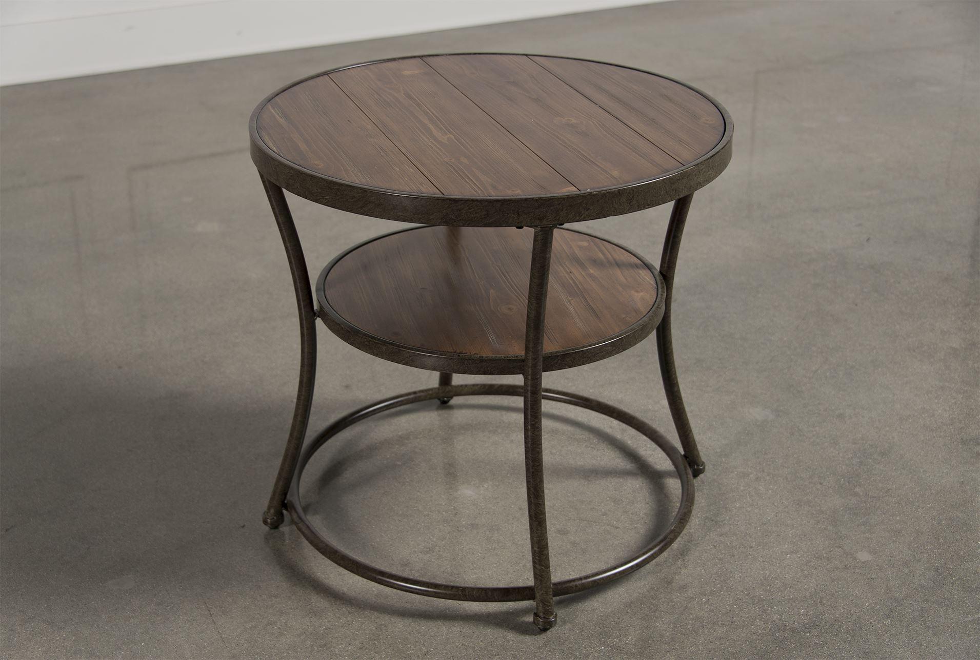 Nartina Round End Table