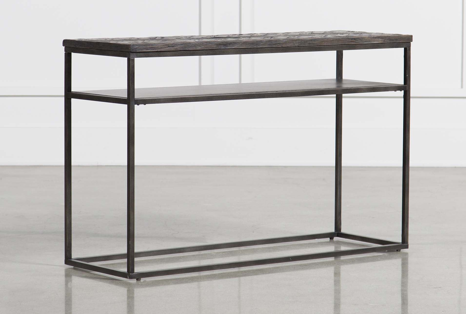 Cinna sofa table living spaces for Living spaces sofa table