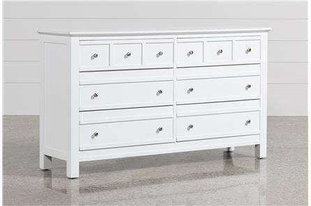 Bayside White Dresser - Main