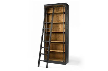 Otb Reese Bookcase & Ladder - Main
