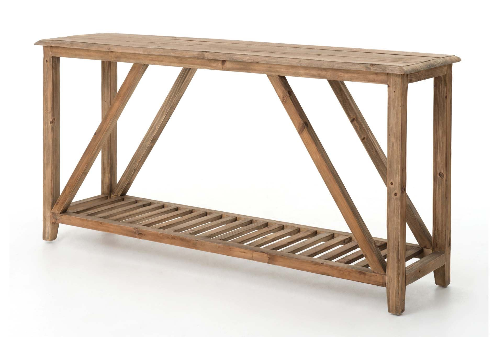 Otb caden console table living spaces for Living spaces sofa table
