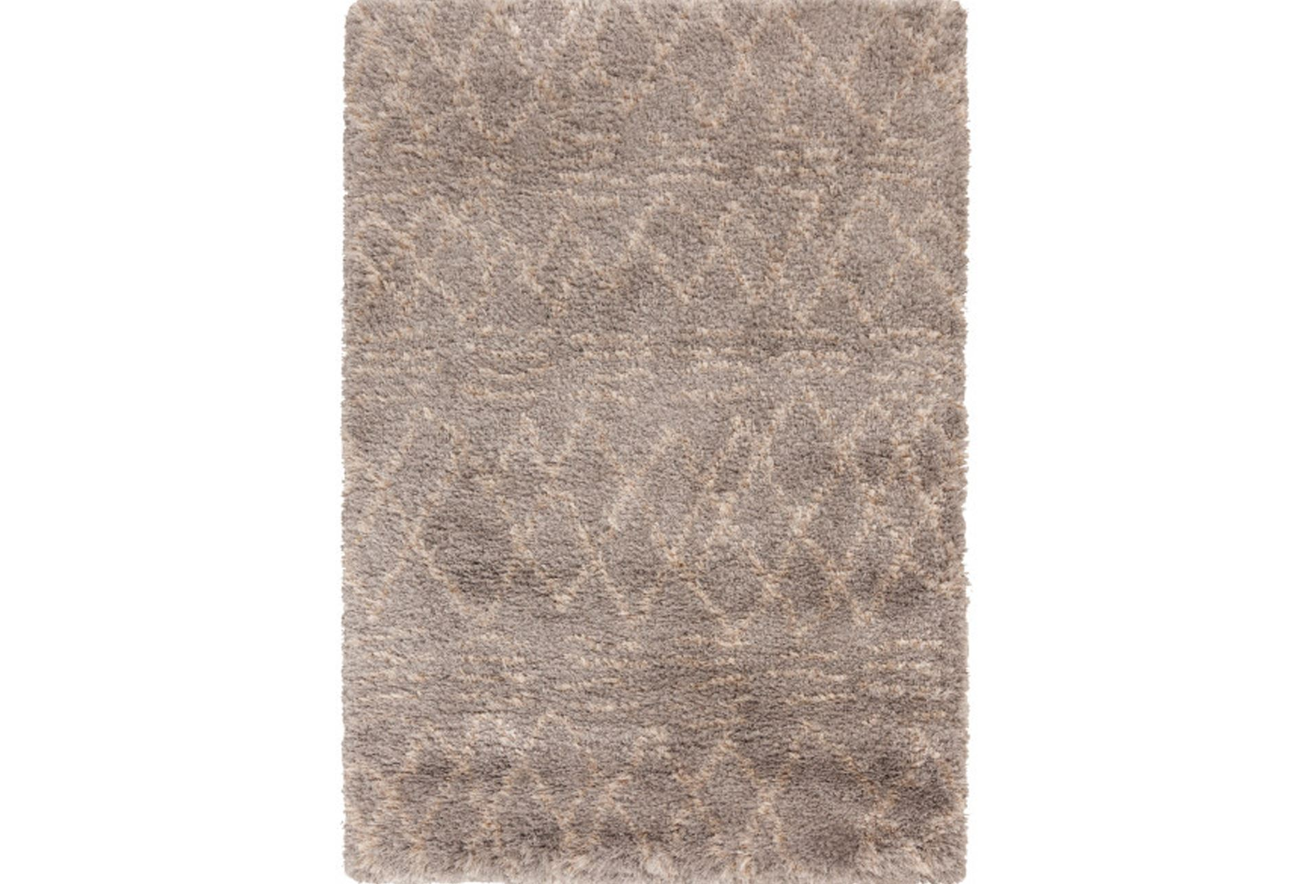 60x96 rug nomad shag beige living spaces for Living spaces rugs
