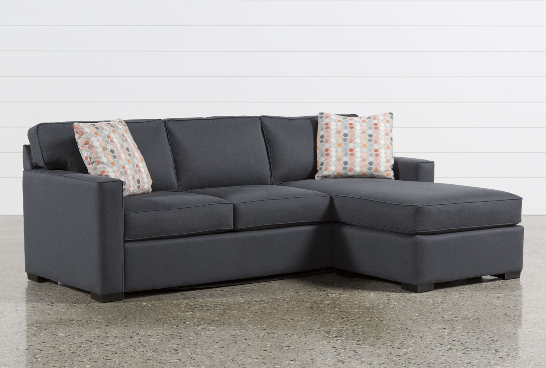 Logan 2 piece sectional living spaces for Living spaces sectionals