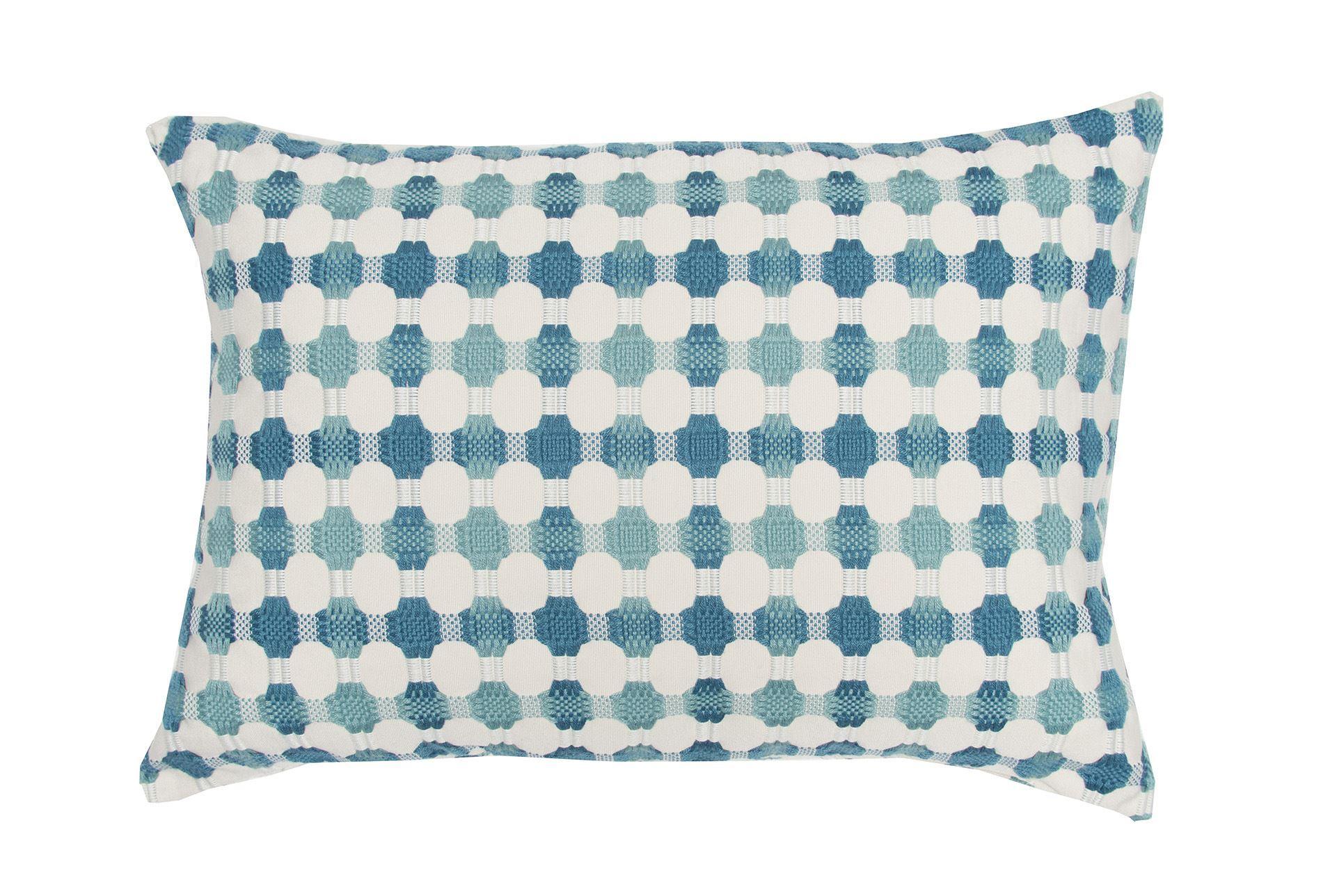 Decorative Pillows Living Spaces : Accent Pillow-Kadri Teal 14X20 - Living Spaces