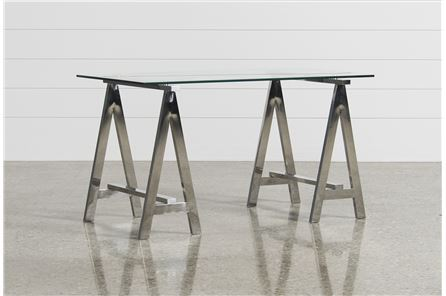 Jenica Glass Desk - Main