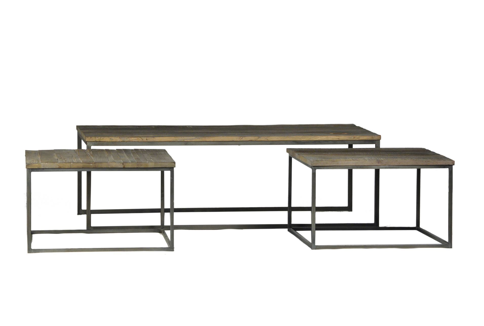 Otb Trinity 3 Piece Nesting Coffee Table Living Spaces