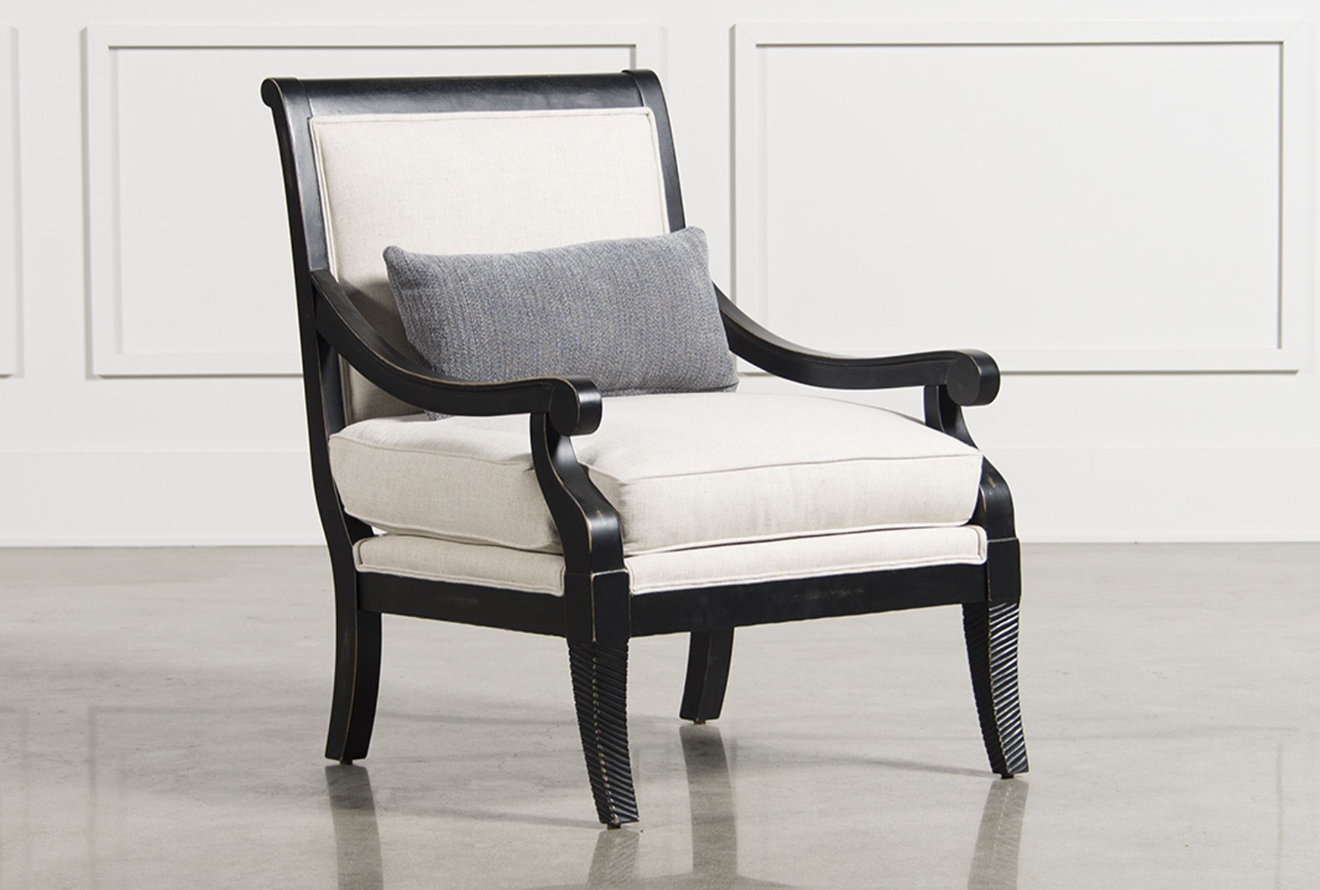 Living Spaces Accent Chairs : Abigail Accent Chair - Living Spaces