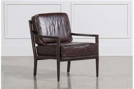 Dominic Cocoa Accent Chair - Main