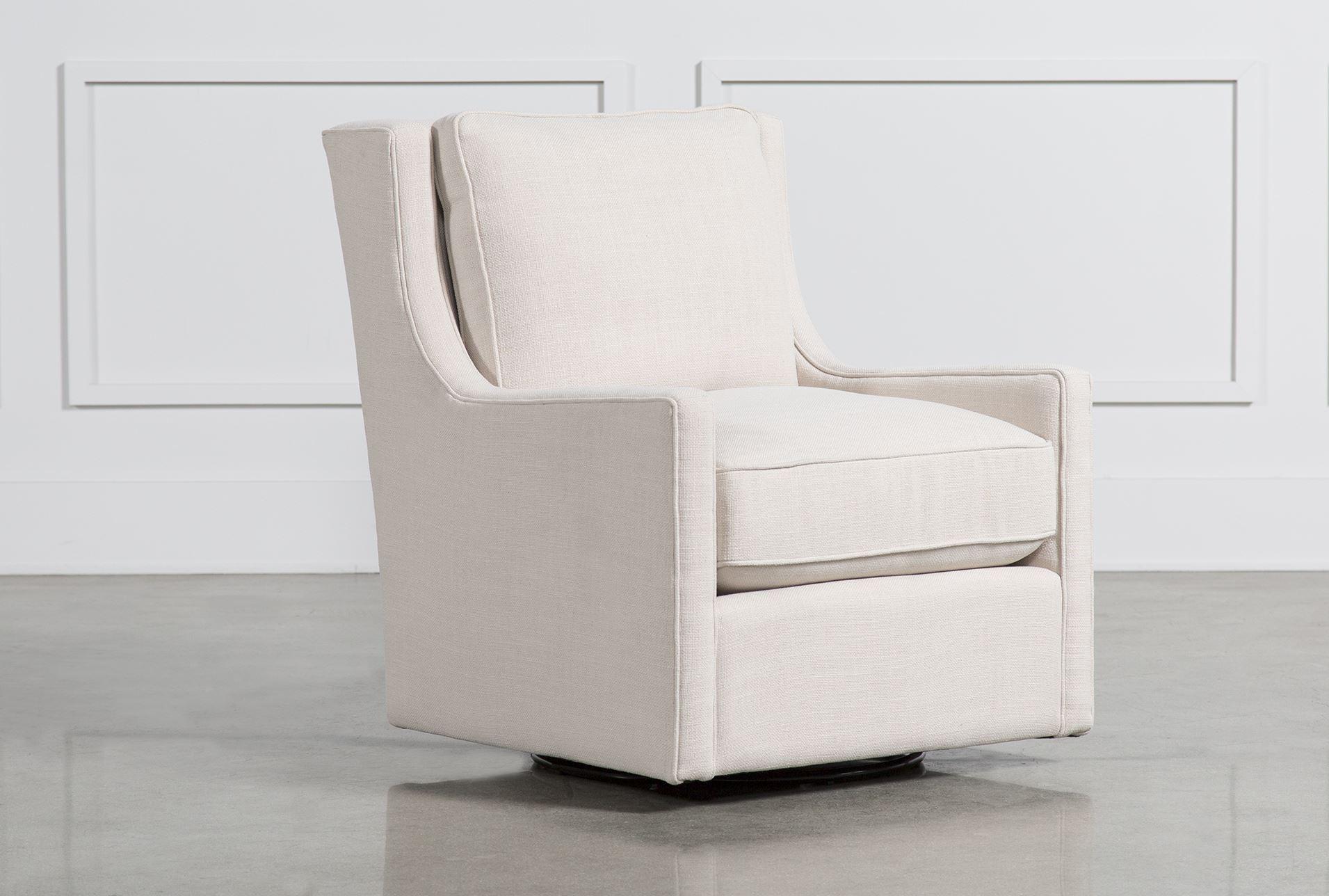 Howard Beach Swivel Chair Living Spaces