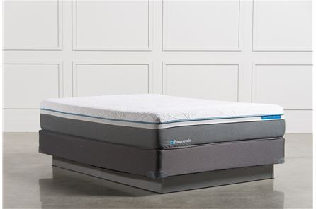 Cobalt Queen Mattress W/Foundation - Main