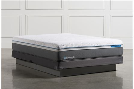 Cobalt Queen Mattress W/Low Profile Foundation - Main