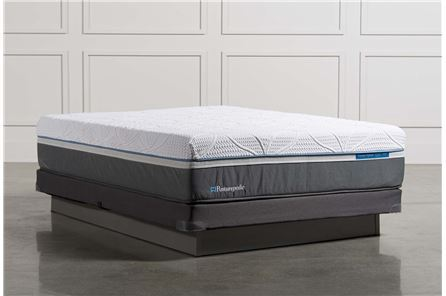 Silver Queen Mattress W/Low Profile Foundation - Main