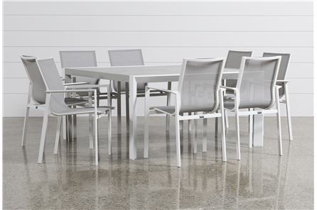 Biscayne 9 Piece Square Outdoor Dining Set - Main