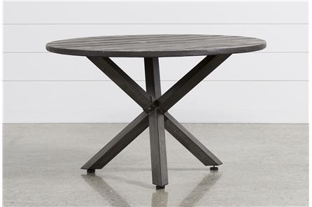 Tortuga Round Outdoor Dining Table - Main