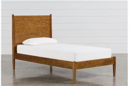 Alton Cherry Twin Platform Bed - Main