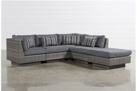 Varadero 5 Piece Sectional W/1 Ottoman & 2 Corners - Main