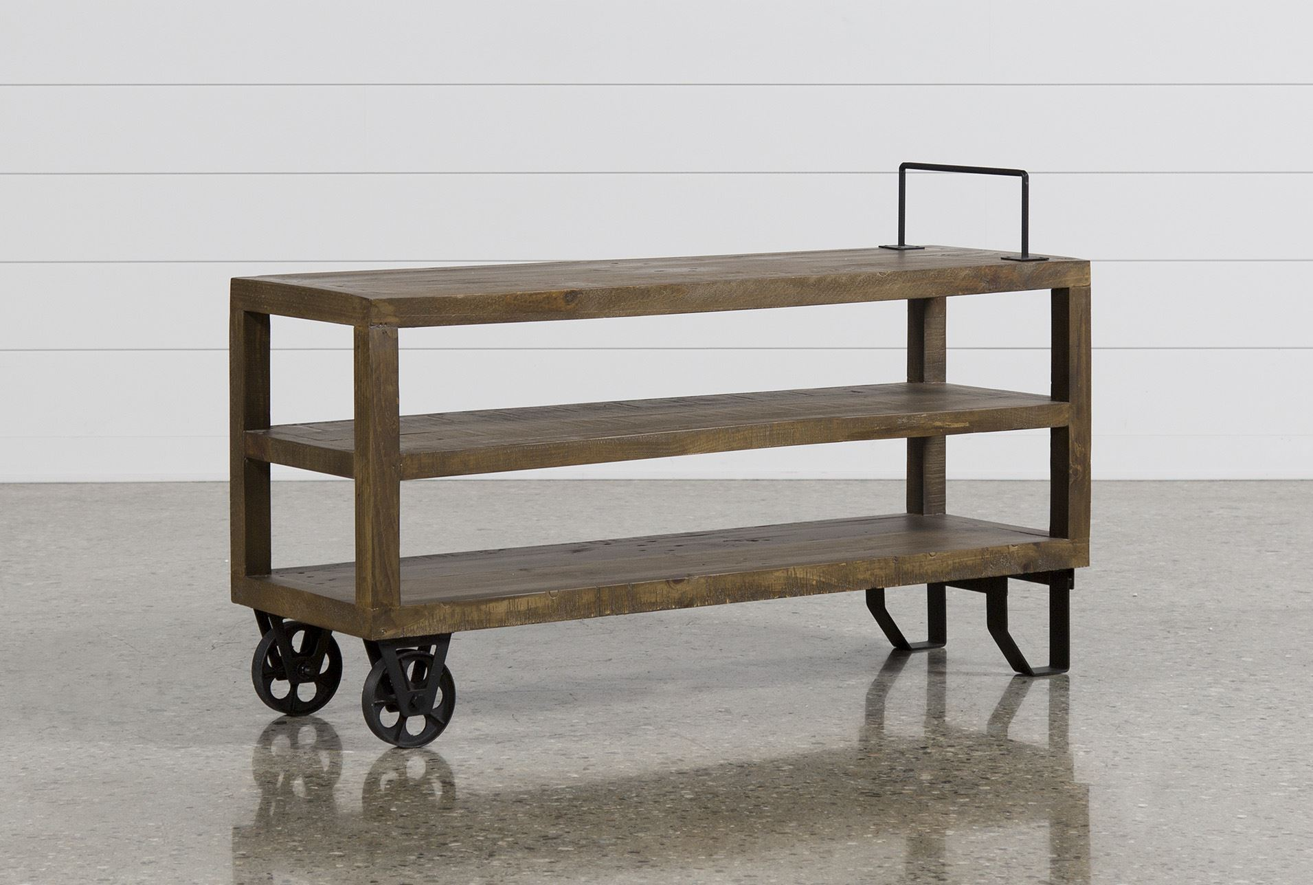 Blythe sofa table living spaces for Living spaces sofa table