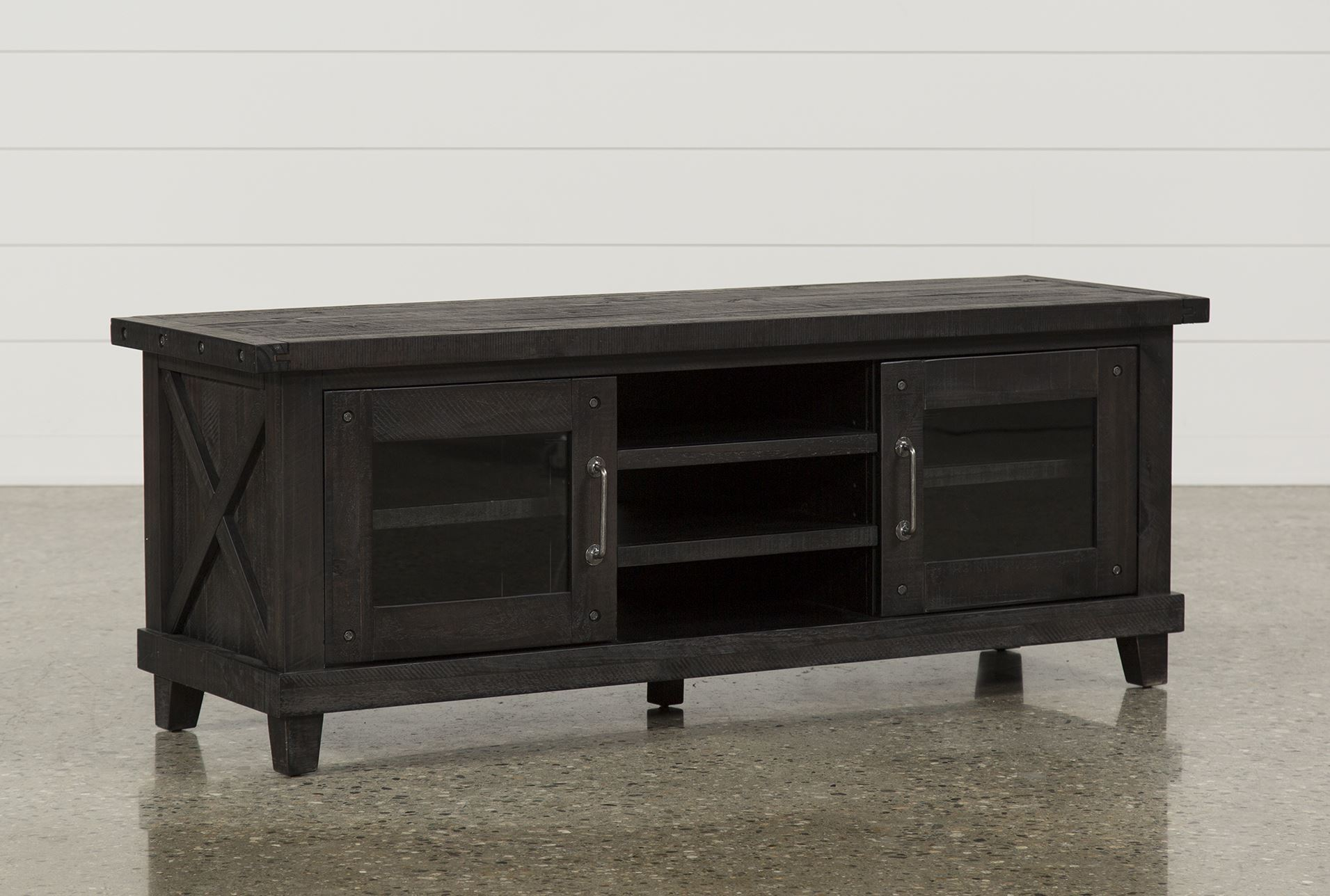 Jaxon 65 inch tv console living spaces for 65 sofa table