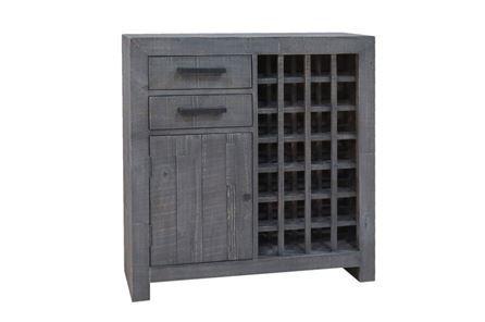 Otb Riley Ash Wine Cabinet - Main