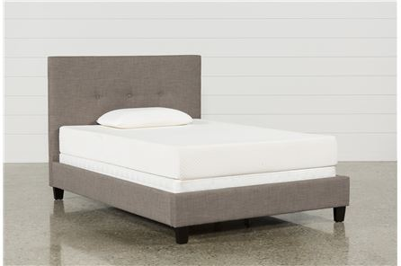 Hunter Full Upholstered Platform Bed - Main