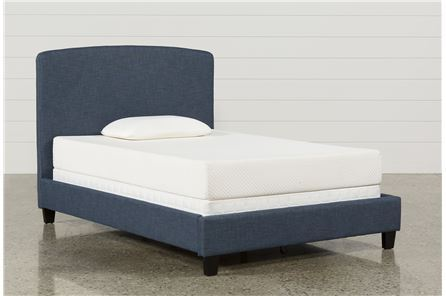 Scout Full Upholstered Platform Bed - Main