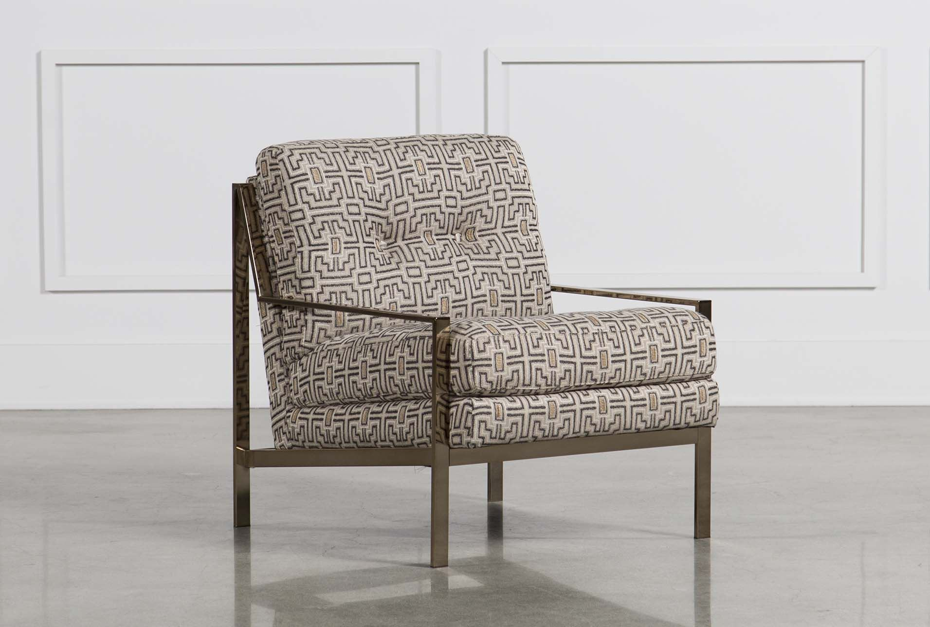 Living Spaces Accent Chairs : Grayson Accent Chair - Living Spaces