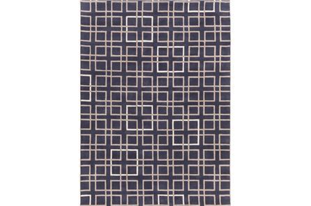 96x132 Rug Colleen Navy Living Spaces