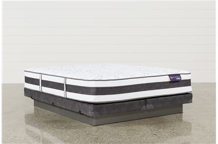 Recognition Firm California King Mattress W/Low Profile Foundation - Main