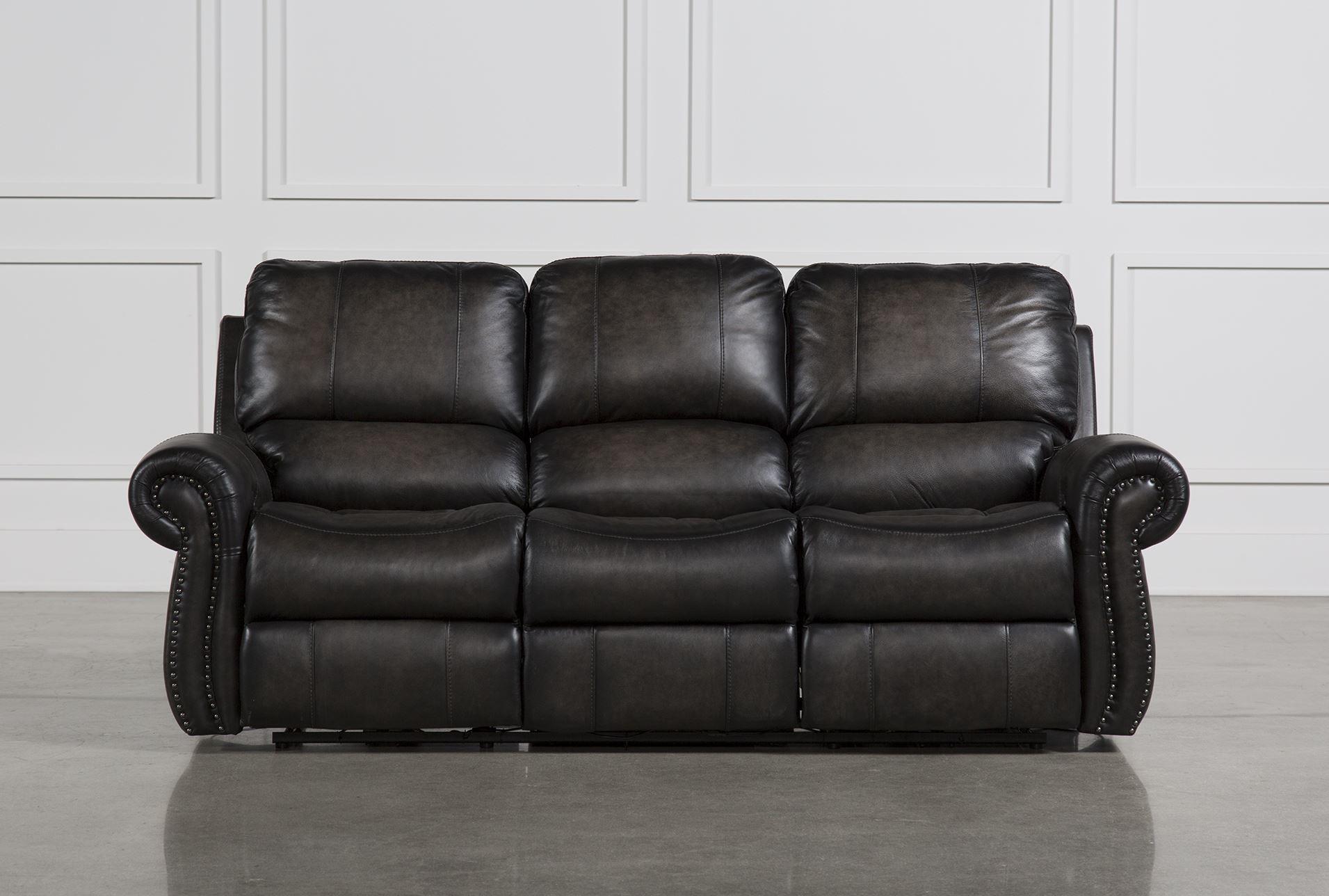 Thad Dual Power Reclining Sofa Living Spaces