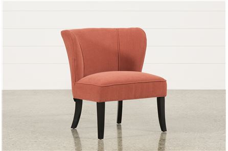Riley Tangerine Accent Chair - Main