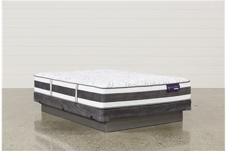 Applause II Firm Queen Mattress W/Low Profile Foundation - Main