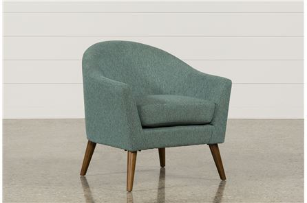 Finn Teal Accent Chair - Main