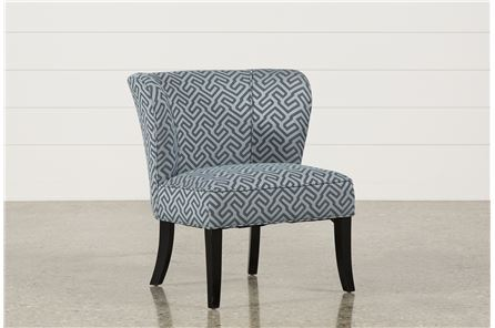 Fenton Chambray Accent Chair - Main