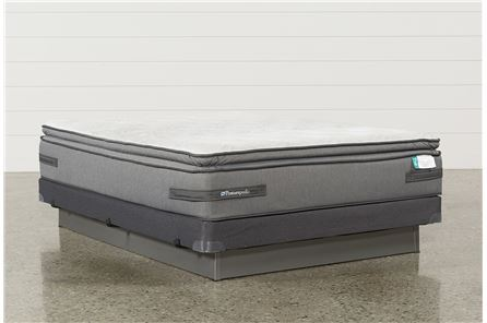 Randolph Terrace Queen Mattress W/Low Profile Foundation - Main