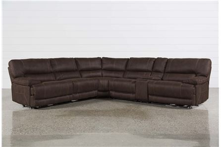 Marx Kahlua 6 Piece Power Reclining Sectional - Main