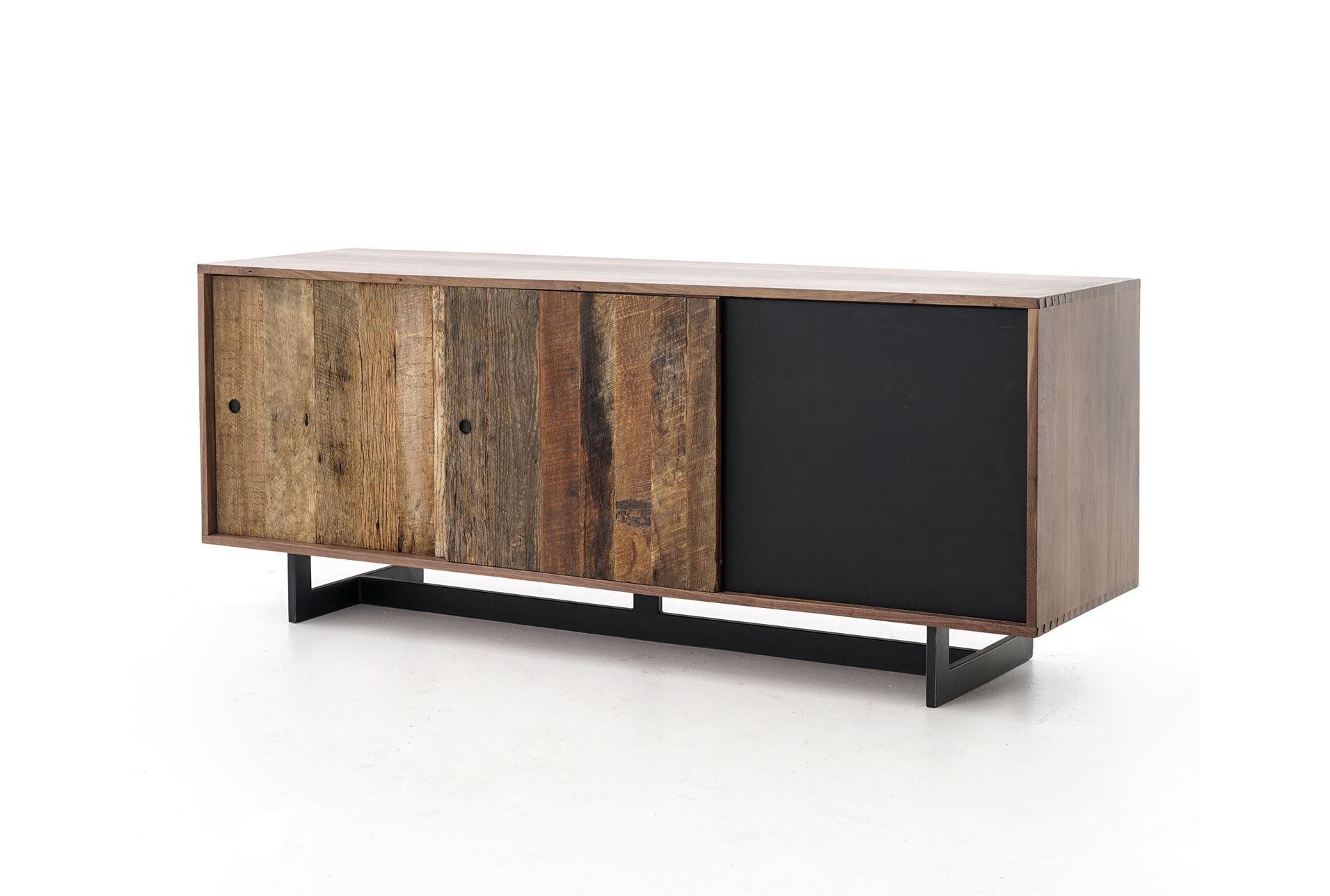 Otb mikelson media console living spaces - Media consoles for small spaces plan ...