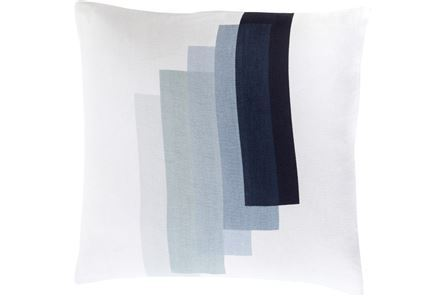 Accent Pillow-Blue Reflections 18X18