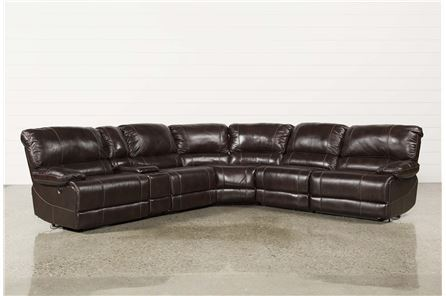 Payton 6 Piece Sectional W/Power Armless Recliner - Main