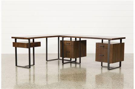 Reid Writing Desk/Return - Main