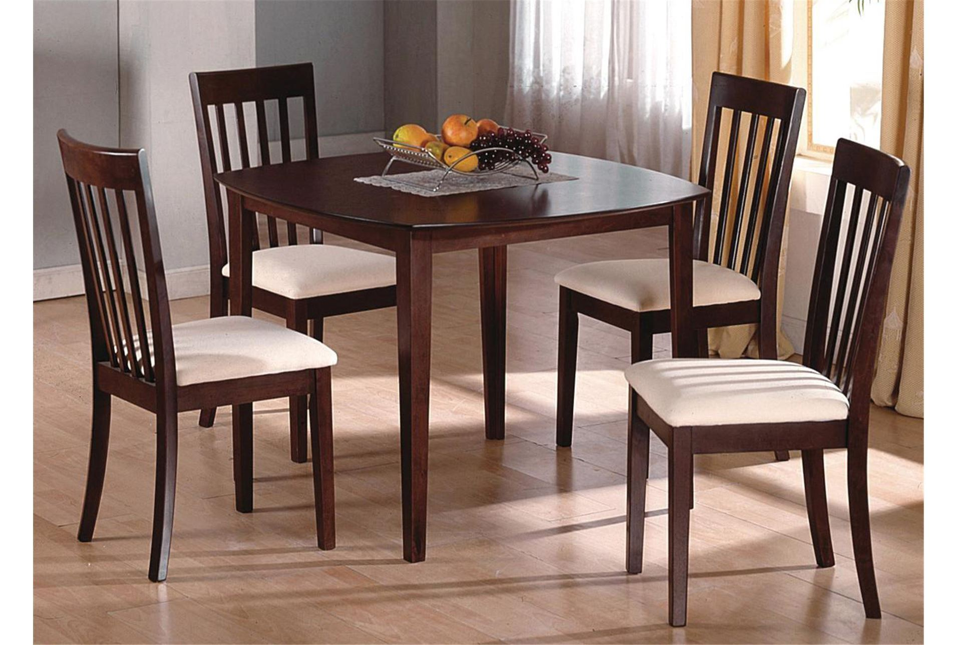 Superb img of Ross 5 Piece Dining Set Living Spaces with #9B6430 color and 1911x1288 pixels