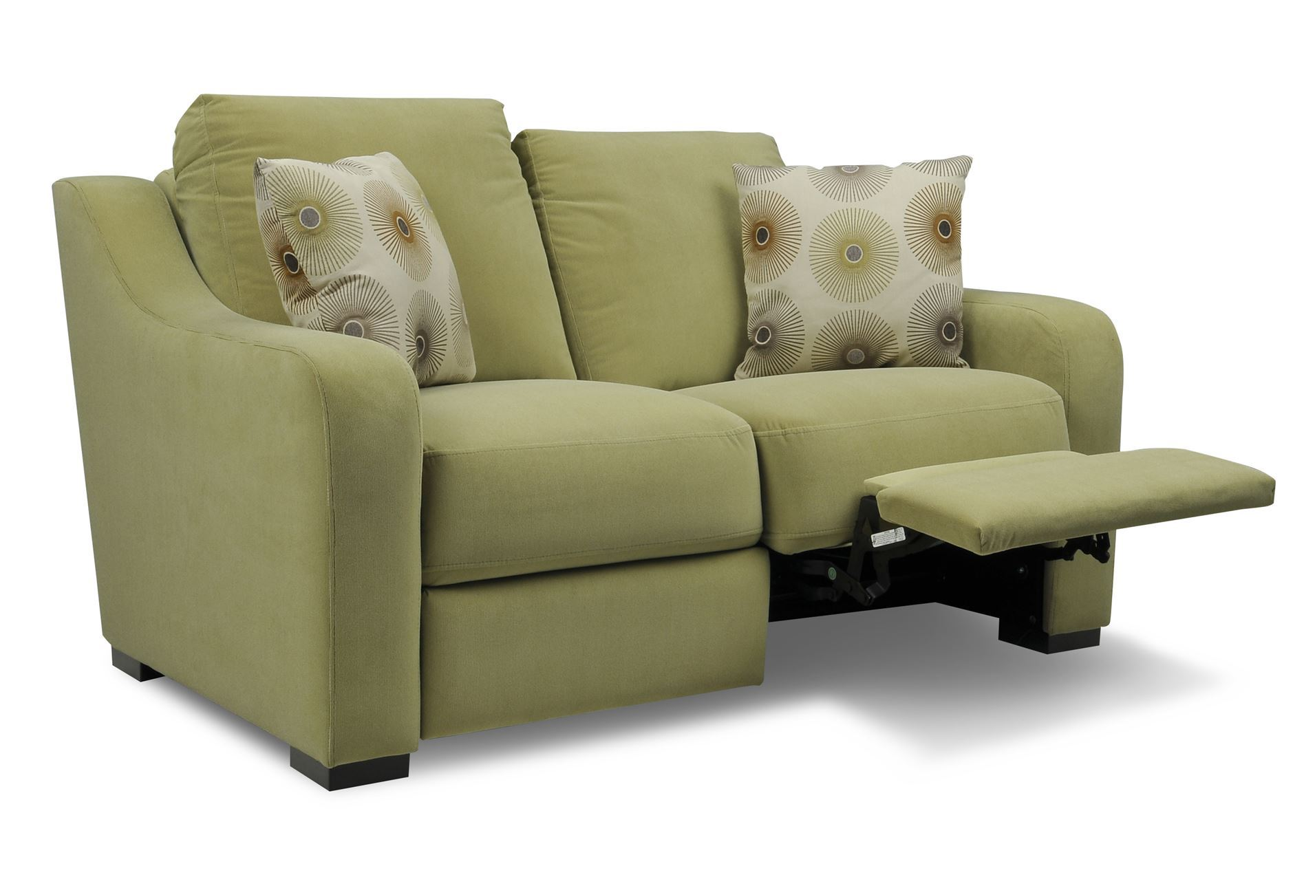 Astoria Fabric Dual Reclining Loveseat Living Spaces