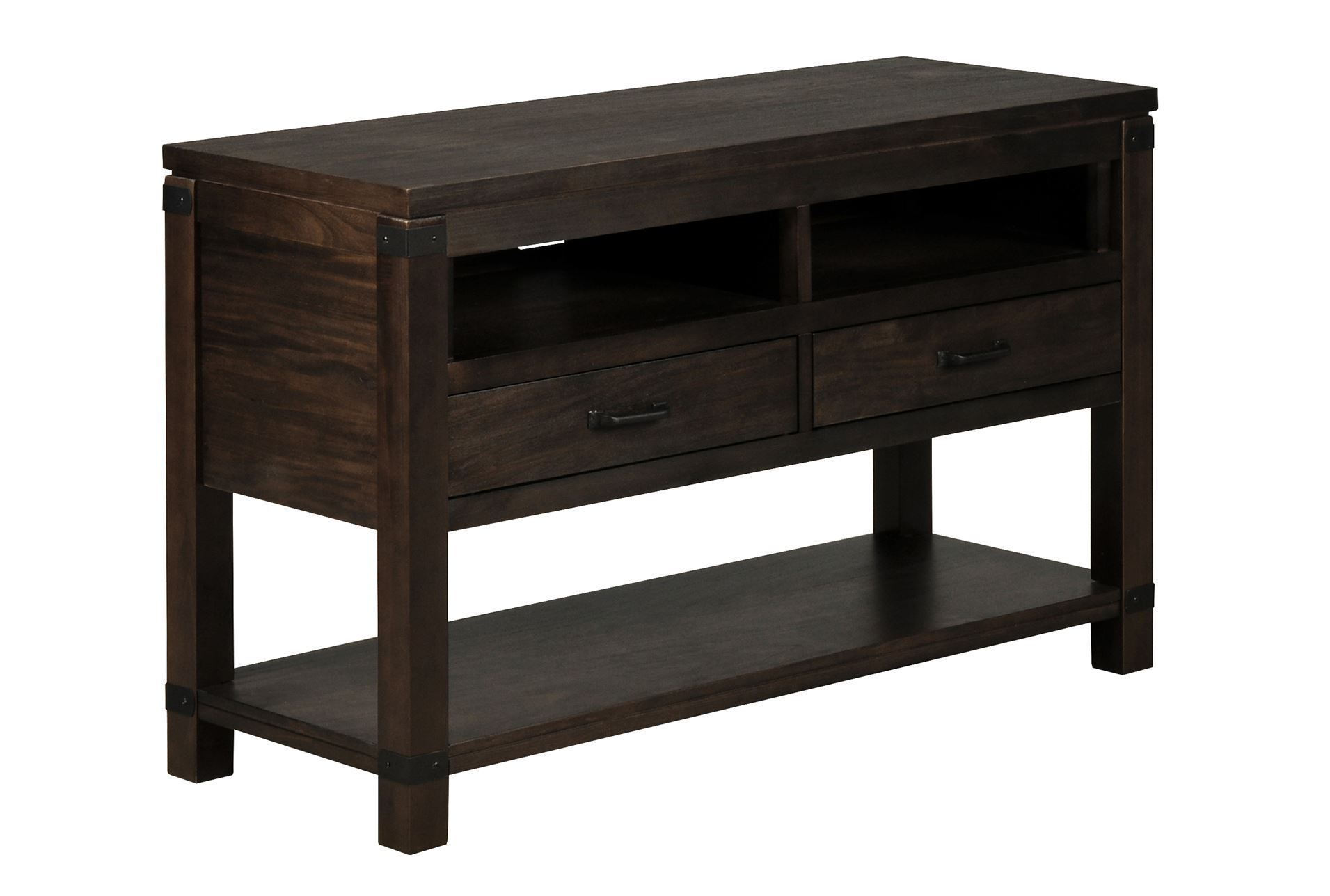 Livingston console table living spaces for Living spaces sofa table
